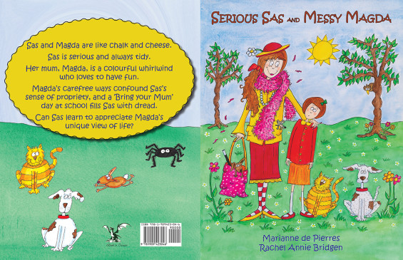 Serious Sas and Messy Magda Print Cover by Marianne de Pierres