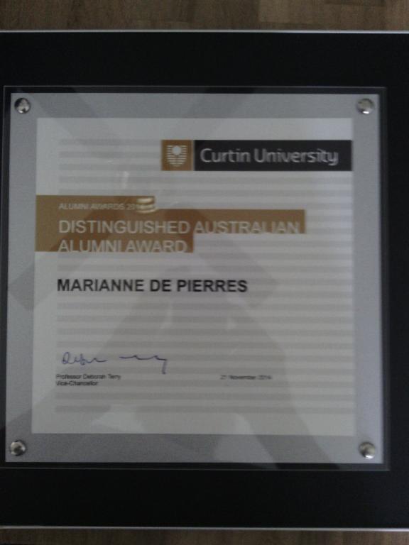 marianne's Award 2014